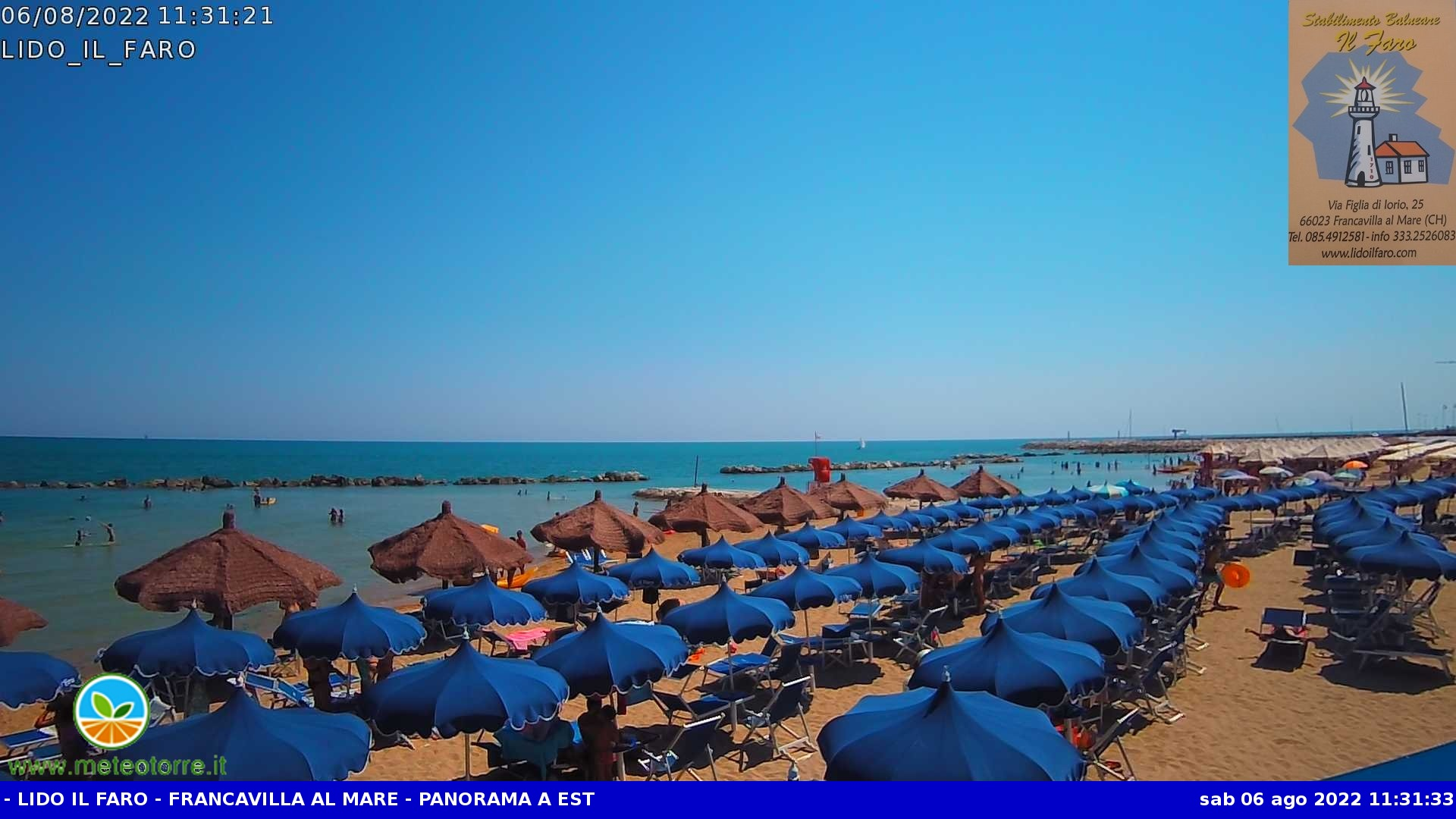 webcam Francavilla al mare